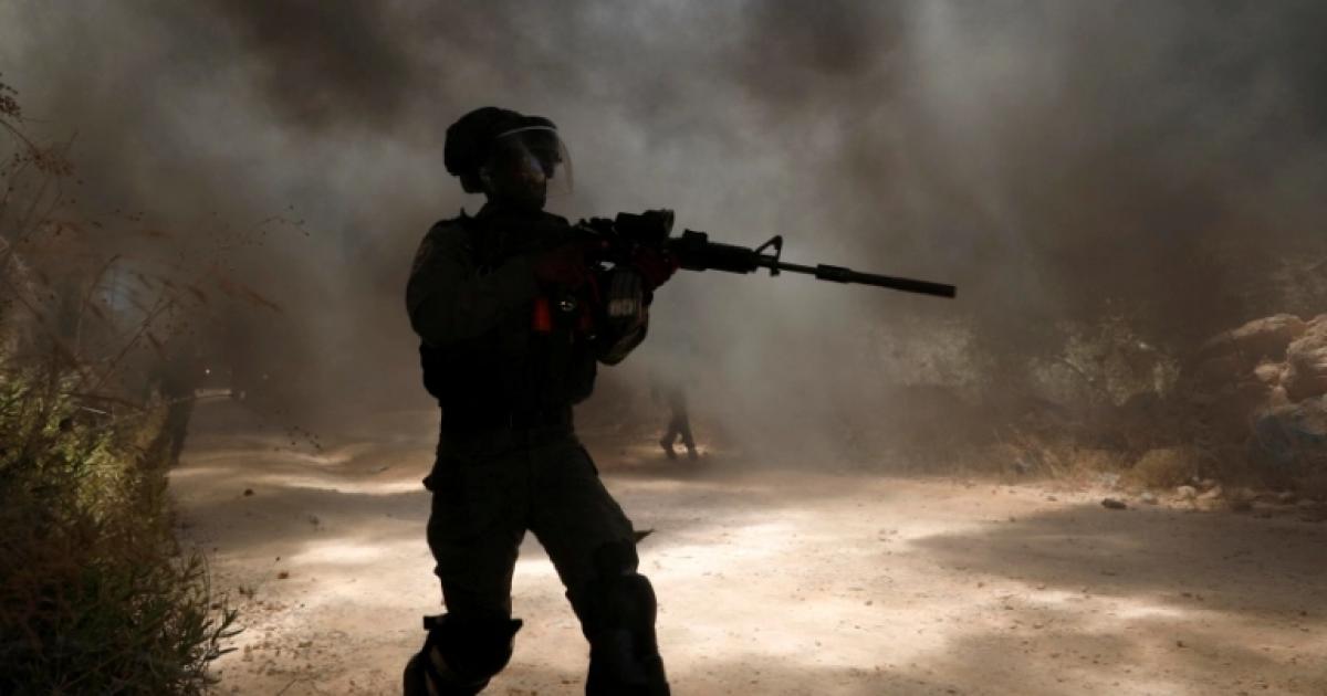 اصابات في مواجهات مع الاحتلال في بيتا جنوب نابلس