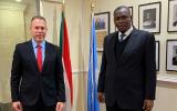 جلعاد ارادن والسفير السوداني