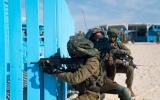 الجيش الاسرائيلي ومناورات في غزة