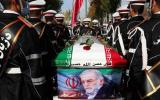 تشييع جثمان العالم الايراني