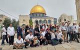 المسجد الاقصى واقتحامات المستوطنين