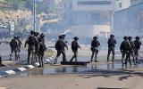 اصابات في قمع الاحتلال لمسيرة سلمية في ام الفحم
