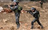 اطلاق النار على شاب فلسطيني في حوسان