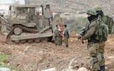 الاستيلاء على اراضي المواطنين في الضفة الغربية