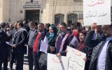 اضاب المحاميين الفلسطينيين