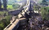 وفيات بتصادم قطارات في مصر