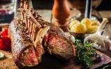 لحم الخروف ولحم البقر