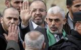 الوفد الامني المصري في غزة والسنوار