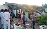 اصطدام قطارين في باكستان