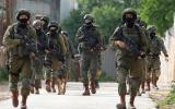 تدريبات الجيش الاسرائيلي في جنين