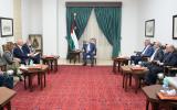 عباس يلتقي بوزيرين في رام الله
