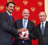 أمير قطر ومونديال 2022