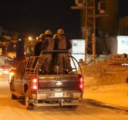 اطلاق نار على مركز شرطة الرام