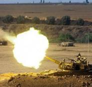 المدفعية الاسرائيلية تقصف غزة