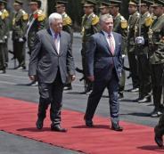 مباحثات بين الرئيس عباس والعاهل الأردني قبل وصول الوفد الأمريكي