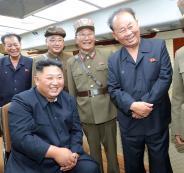زعيم كوريا الشمالية واطلاق الصواريخ