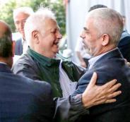 وفد لجنة الانتخابات المركزية في غزة