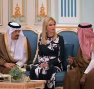 ايفانكا تحصل على 100 مليون دولار من السعودية والامارات