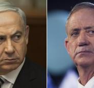 نتنياهو غانتس واسرائيل