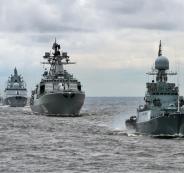 سفن حربية روسية الى سوريا