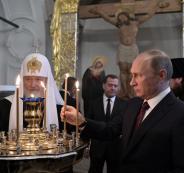 روسيا تبني كنيسة آيا صوفيا في سوريا