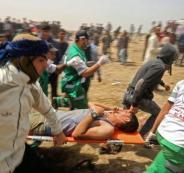 المصابين في قطاع غزة