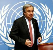 امين عام الامم المتحدة يدعو اسرائيل الى وقف العنف