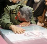 قاسم سليماني يبكي