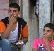 التدخين في فلسطين