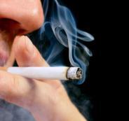 التدخين والبصر