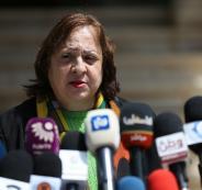 وزيرة الصحة وحالة الطوائ في فلسطين