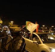 مصرع فتاة في اعقاب فوز منتخب الجزائر