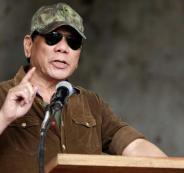 الرئيس الفلبيني والموصل والرقة
