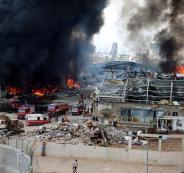 النيران ومرفأ بيروت