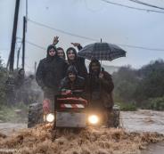 موسم الامطار في فلسطين
