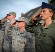 ضابطة في سلاح الجو الأمريكي تنشق وتهرب الى ايران