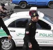 مقتل 3 رجال شرطة ايرانيين بعملية دهس