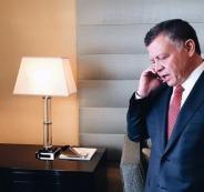 الملك عبد الله الثاني يطالب نتنياهو خلال اتصال هاتفي بفتح الأقصى