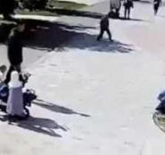 اعتداء وحشي على سيدة مسلمة