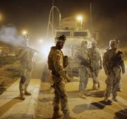 القوات الامريكية في الموصل