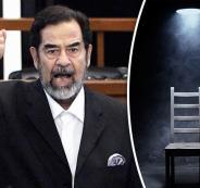 التحقيق مع صدام حسين