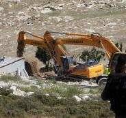 هدم منازل الفلسطينيين في الضفة الغربية