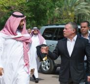 لقاء بين العاهل الاردني ومحمد بن سلمان
