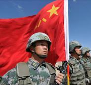 مناورات عسكرية صينية في جيبوتي