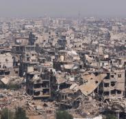 اعادة اعمار مخيم اليرموك