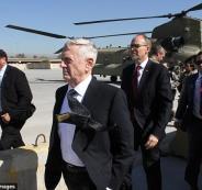وزير الدفاع الامريكي في العراق