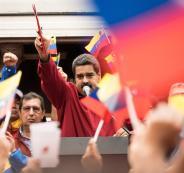 الحصار الامريكي على فنزويلا