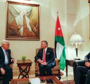 مباحثات بين الرئيس عباس والعاهل الاردني