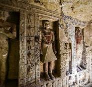 اكتشاف مقبرة في مصر