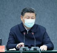 الرئيس الصيني وفيروس كورونا
